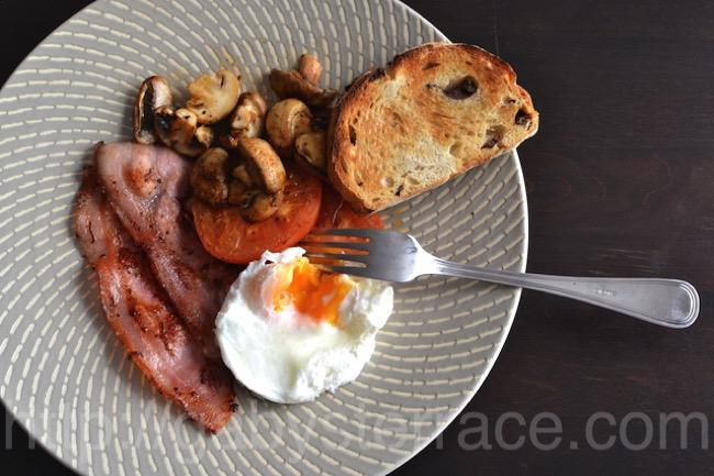 オーストラリア風に朝食を