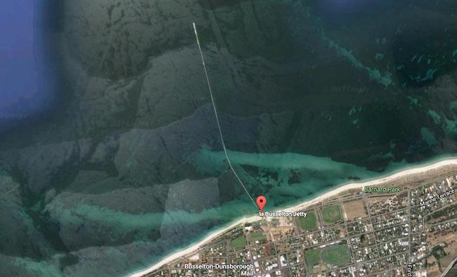 バッセルトンへの日帰りドライブ旅行:Busselton Jetty 海中観測所