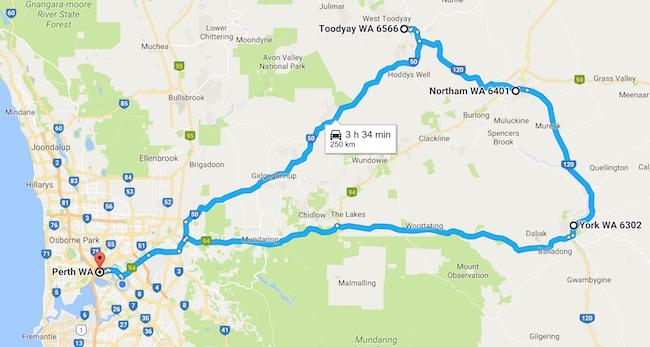 トゥージェイ:西オーストラリア入植の歴史と小麦ベルト地帯