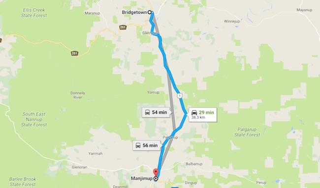 マンジマップのトリュフ狩り:ブリッジタウンからマンジマップへ